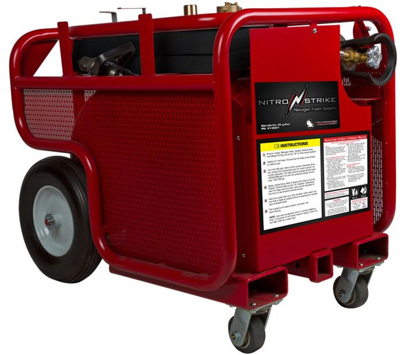 North American Rescue Nitrostrike 30 Gallon Portable Fire Suppression Systems