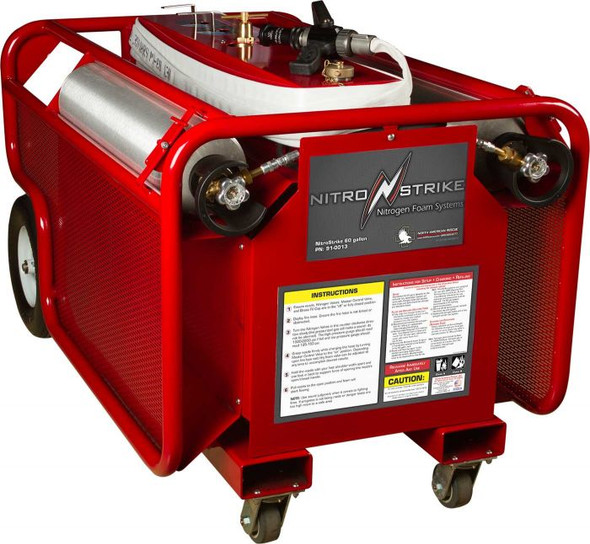 North American Rescue Nitrostrike 60 Gal Portable Fire Suppression Systems