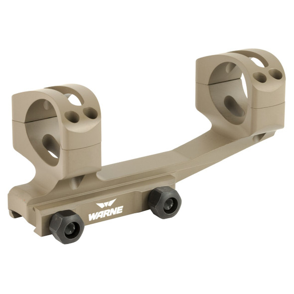 Warne Gen2 Extended Skeletonized Mounts 34mm Tan