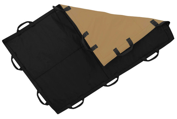 Battle Steel Level IIIA 4'x6' Ballistic Blanket Black/Coyote