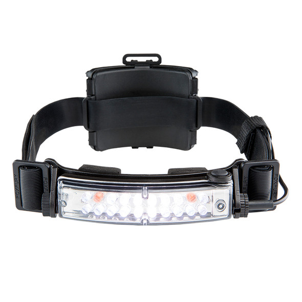 Fox Fury Command+ Tilt White & Amber LED Headlamp/Helmet Light