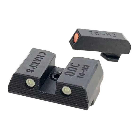 CHARPS Low Profile Combat Night Sights Glock 9/40