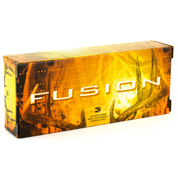 Federal Fusion 7x62mm 123gr Boat Tail Ammunition 20rd