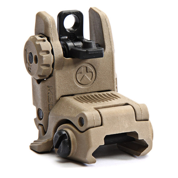 Magpul MAG248-FDE MBUS Rear Sights Tan