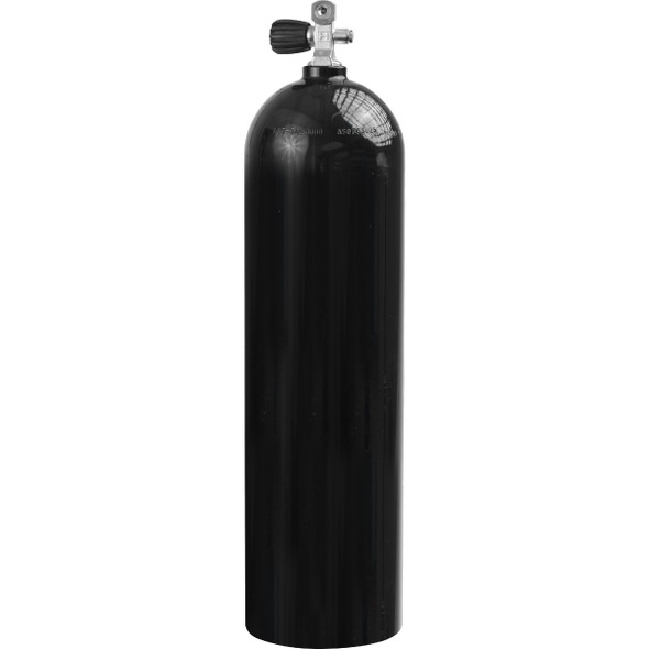 Mission Technologies 80 Cubic Inch Fill Station HPA Bottle