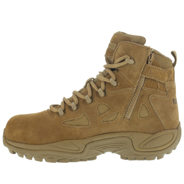 "Reebok RB8650 Men's Rapid Response RB 8"" Tactical Side Zip Boots"