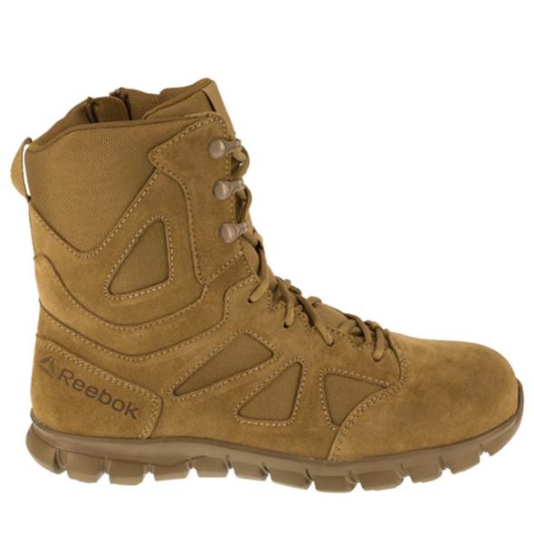 "Reebok RB8809 Men's Sublite Cushion 8"" Tactical Side Zip Boots"