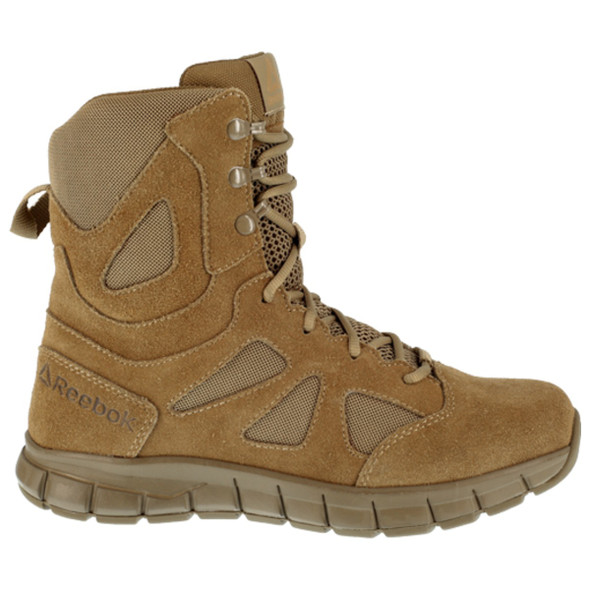 """Reebok RB808 Women's Sublite Cushion Tactical 8"""" Boots"""