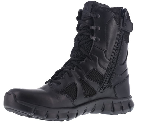 "Reebok RB806 Women's Sublite Cushion 8"" Waterproof Side Zip Tactical Boots"