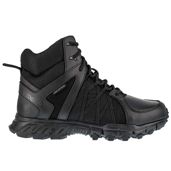 "Reebok RB3450 Men's Trailgrip 6"" Waterproof Tactical Side Zip  Boots"