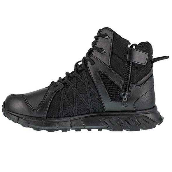 """Reebok RB3450 Men's Trailgrip 6"""" Waterproof Tactical Side Zip  Boots"""