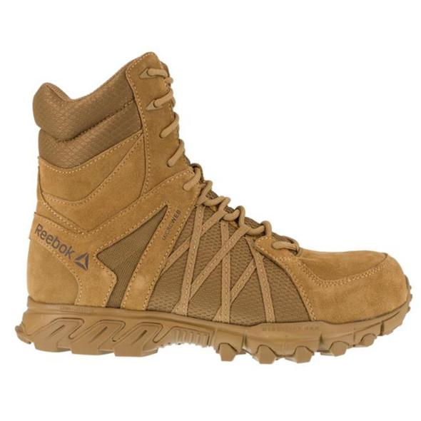 "Reebok RB3460 Men's Trailgrip 8"" Tactical Side Zip  Boots"