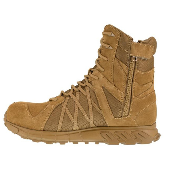 "Reebok RB3460 Men's Trailgrip 8"" Tactical Side Zip  Boots"