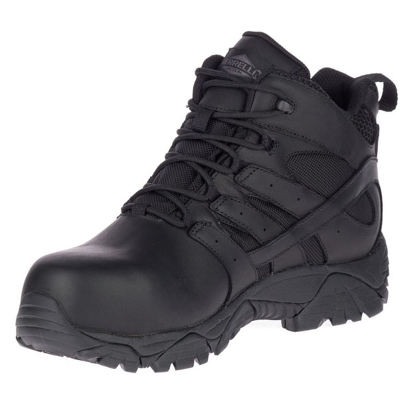 Merrell Men's Moab 2 Mid Tactical Response Waterproof Comp Toe Work Boot