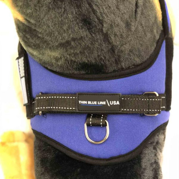 Thin Blue Line Dog Harness