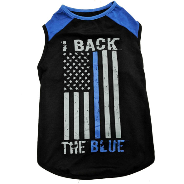 Thin Blue Line Dog Shirt