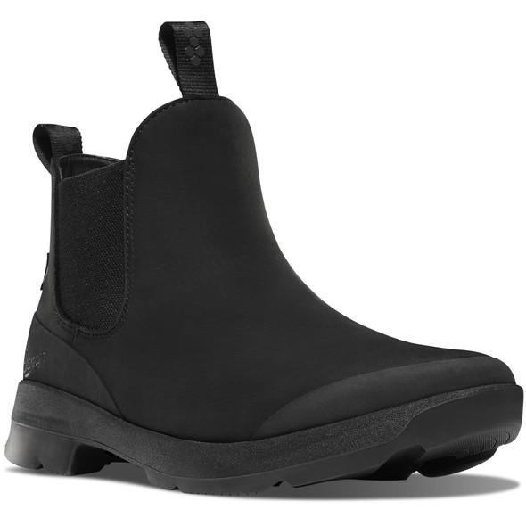 Danner 30330 Pub Garden Chelsea Boots Jet Black