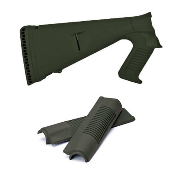 Mesa Tactical Benelli M4 Urbino Pistol Grip Stocks & Forend Set, OD Green
