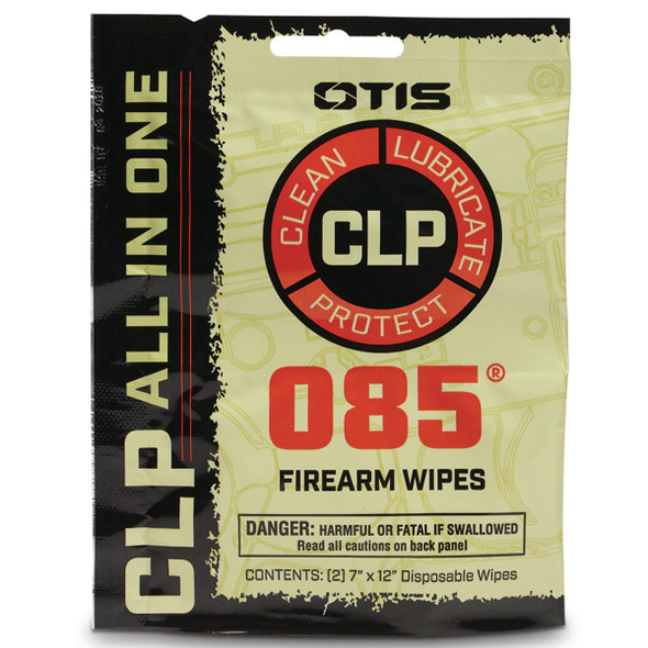 Otis 085 CLP Wipes 2pk