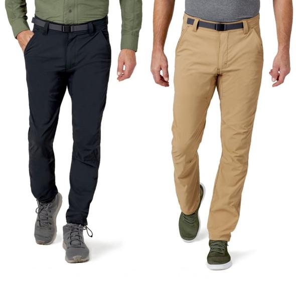 Wrangler All Terrain Gear Men's Convertible Trail Jogger Pants