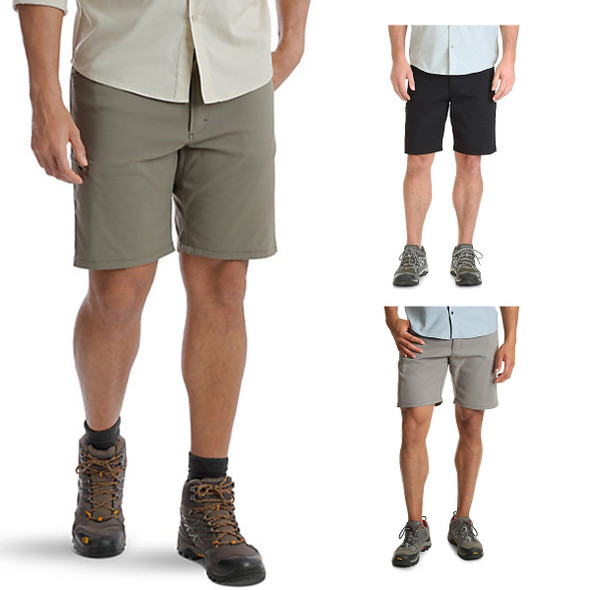 Wrangler Men's Outdoor Flex Waist Performance Utility Shorts