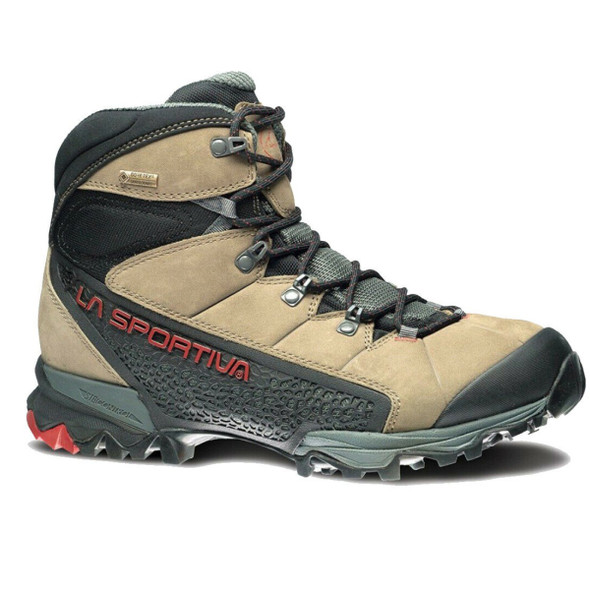 La Sportiva Nucleo High GTX Boots, Taupe/Brick