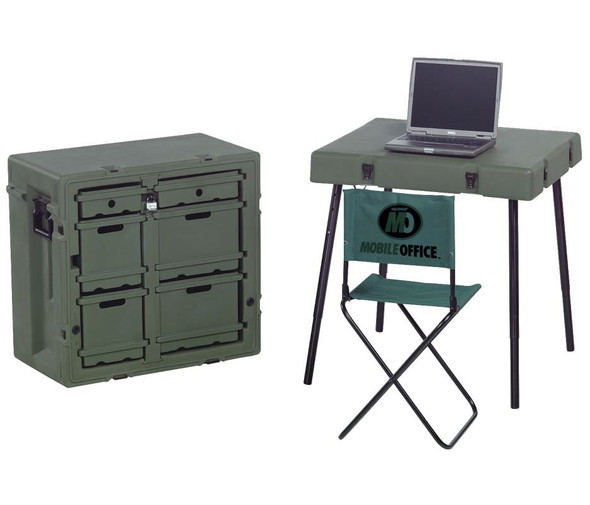 Pelican 472-ADMIN-DESK, OD Green - Open Box Display Model