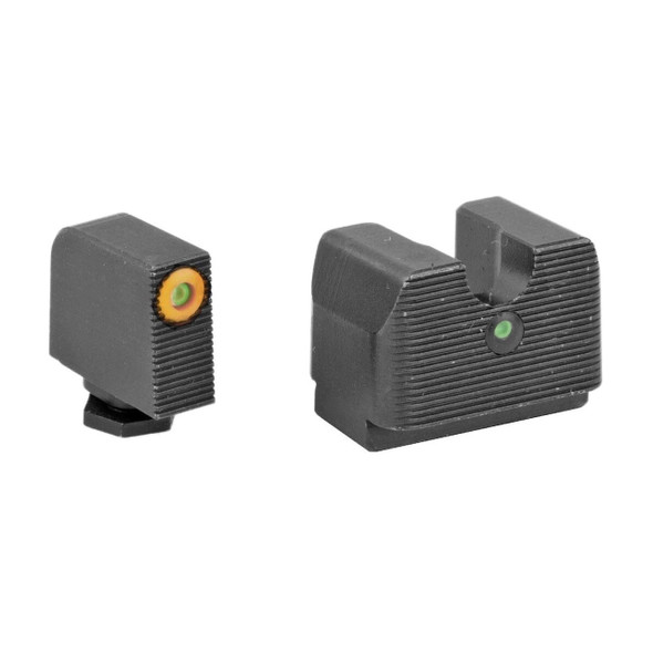 Rival Arms Tritium Night Sights Glock MOS Height 9/40
