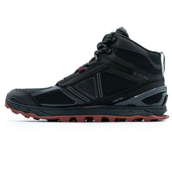 Altra ALM1855H Men's Lone Peak 4 Mid Mesh Boots, Black