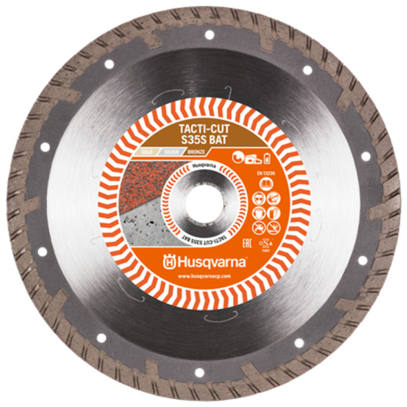 Husqvarna Tacti-Cut Concrete Rescue Blade 9""