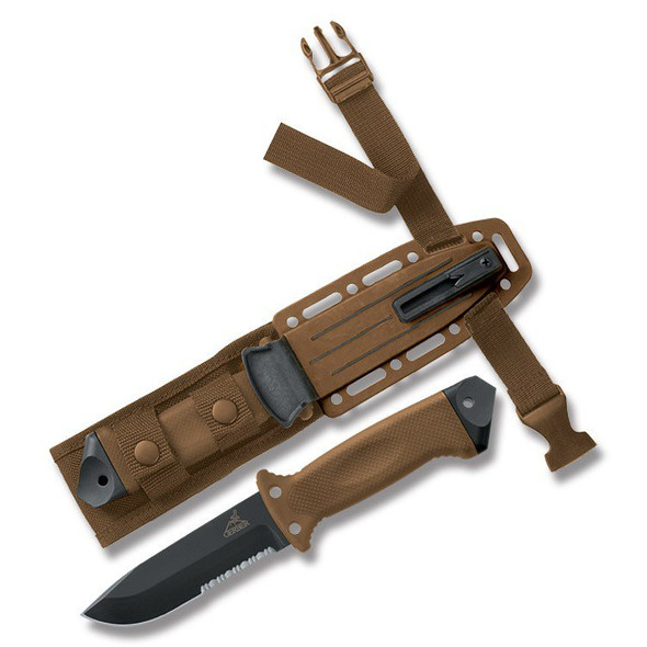 Gerber LMF II Infantry Knives Coyote