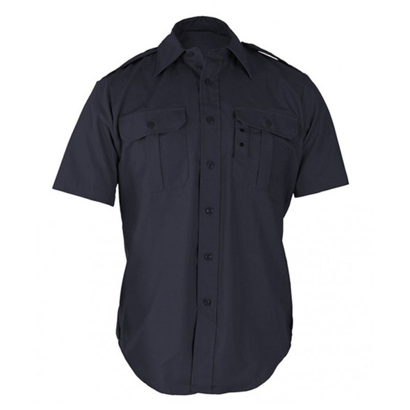 Propper 230 DNVY Tactical Short Sleeve Dress Shirts, Dark Navy