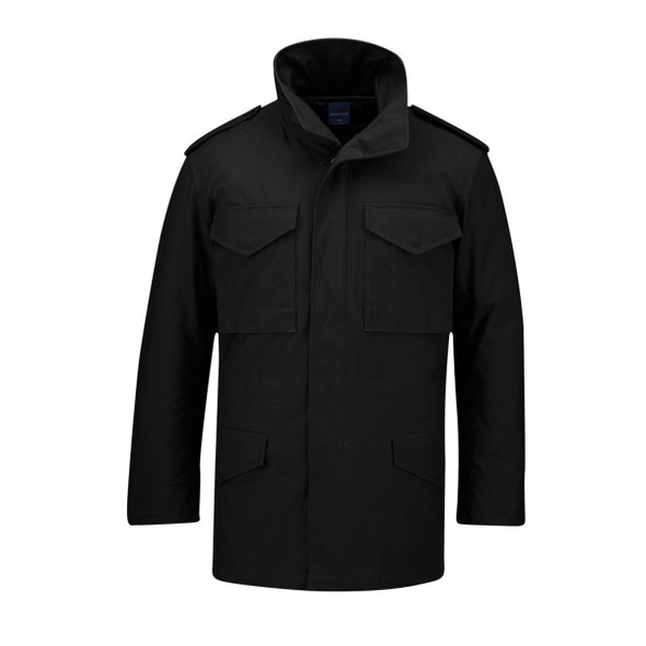 Propper F548509001 M65 Field Coat Black, Size X-Large, Length Regular