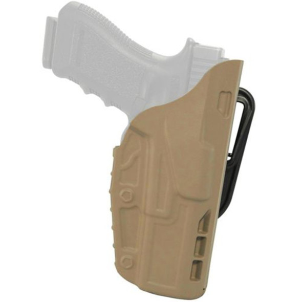 Safariland 7377 7TS ALS Belt Loop Holster Right Hand / Glock 17/22/31