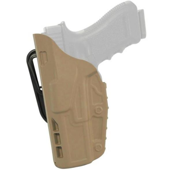 Safariland 7377 7TS ALS Belt Loop Holster Left Hand / Glock 17/22/31