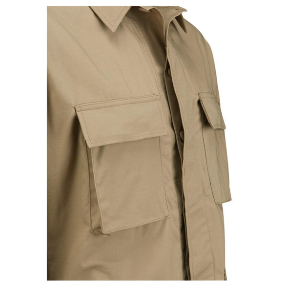 Propper 60-40% CTN-Poly Men Coat, Khaki, Medium, Regular