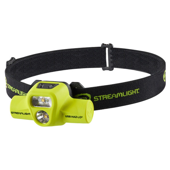 Streamlight USB Haz-Lo Intrinsically Safe Rechargeable Headlamp