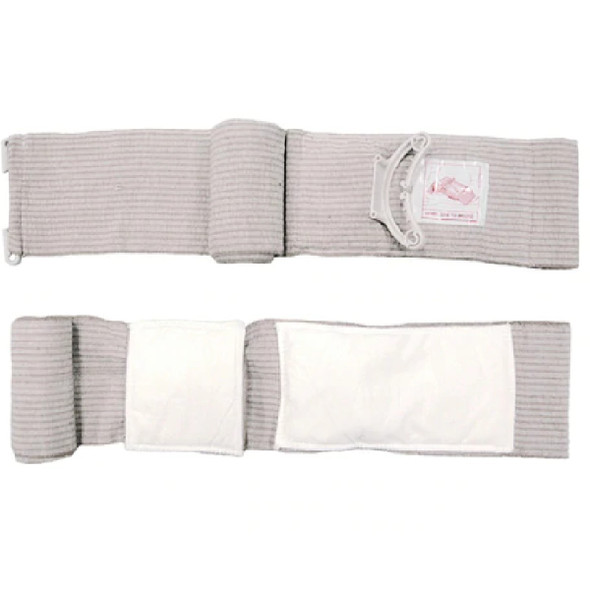 "PerSys Emergency Medical Bandage w/ Mobile Pad 4"" White"