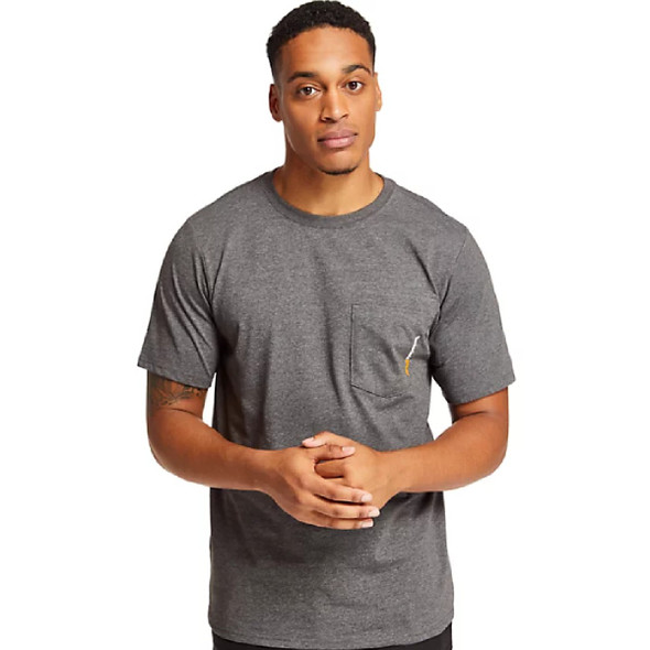 Timberland Men's Pro Base Plate Wicking Short Sleeve T-Shirt