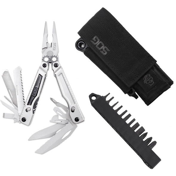 SOG PowerPlay Multi-Tool w/ Hex Bits & 2 Sheaths