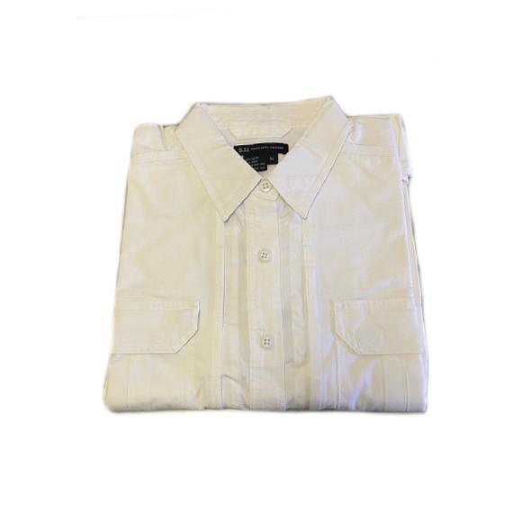 511 Tactical 61155 Women's Tactical Short Sleeve Shirt, White, Medium