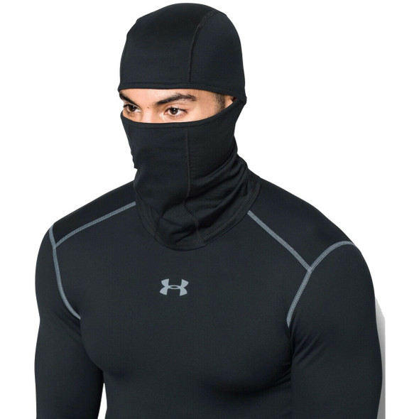 Under Armour 1283116-002 Men's ColdGear Infrared Black Balaclava
