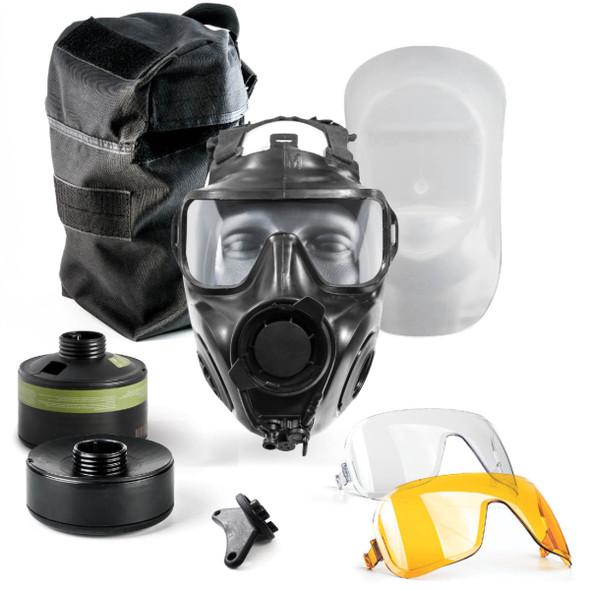 AVON FM54 Air Purifying Twin Port Specialist Responder Kit