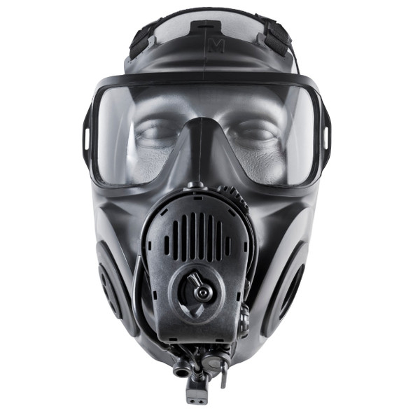 AVON FM53 Twin Port Gas Mask w/ Voice Projection