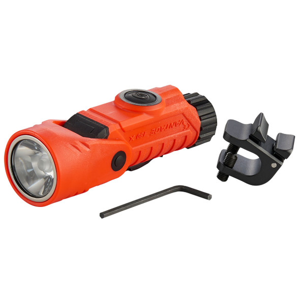 Streamlight Vantage 180 X USB Multi-Fuel Multi-Function Helmet/Right-Angle Flashlight Orange