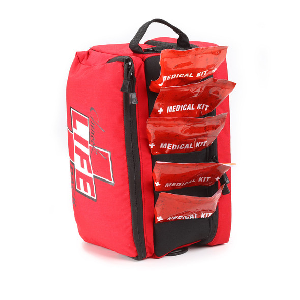 Chinook Medical Life Pack Bag Red - MADE IN USA