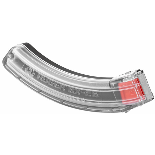 Ruger BX-25 10/22 25rd Magazines Clear
