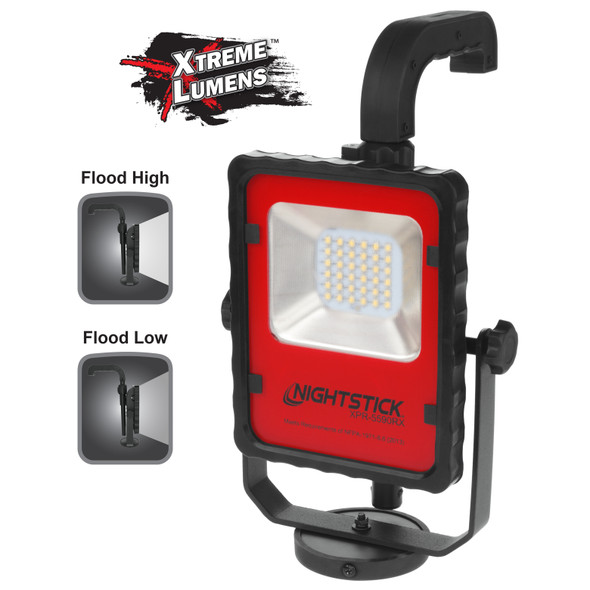 Nightstick Intrinsically Safe Rechargeable LED Scene Light w/Magnetic Base & Carrying Case