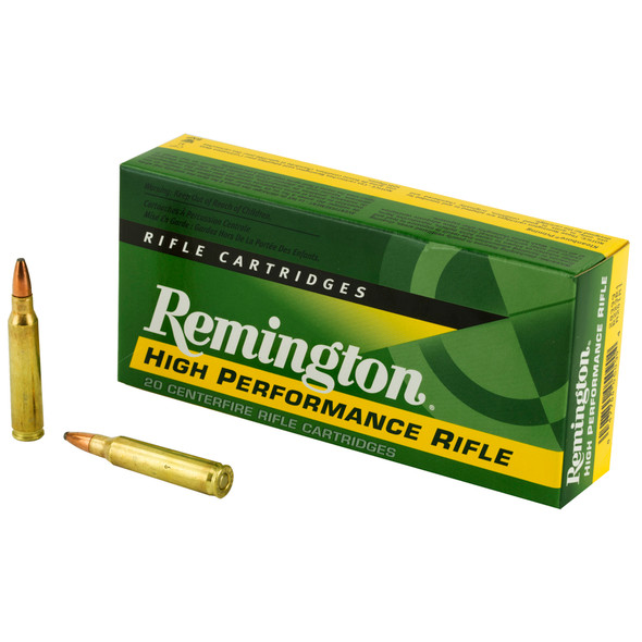 Remington High Performance 223REM 55GR Pointed Soft Point Ammunition 20 Rounds
