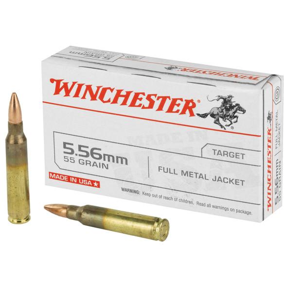 Winchester 5.56mm 55gr FMJ Ammunition 20rd